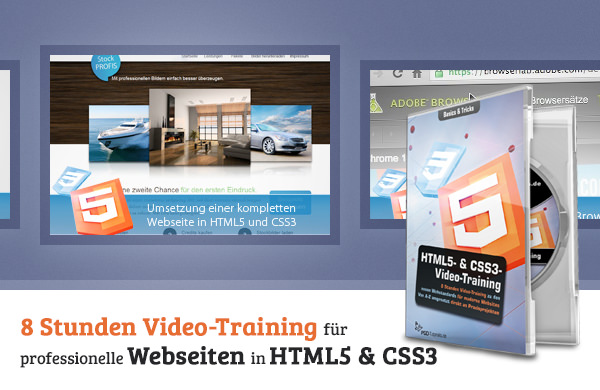 HTML5 & CSS3 Video Training - 600