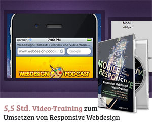 Responsive Webdesign-Video-Training