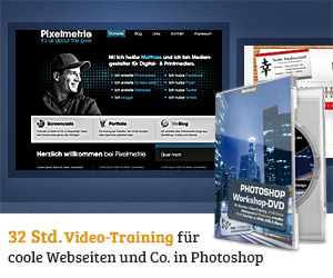 Photoshop-Workshop-DVD - Webdesign