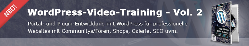 WordPress-Video-Training - Vol. 2 - Content