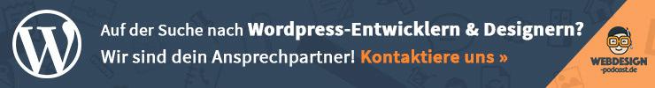 WordPress Entwickler und Webdesigner
