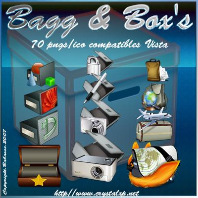Taschen und Boxen