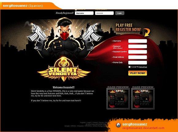 MMORPG design: Silent Vendetta