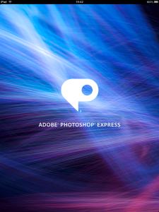 Adobe Photoshop Express iPad App