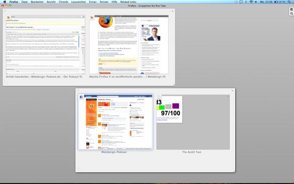 Mozilla Firefox 4 - Tabs gruppieren