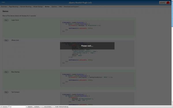 jQuery BlockUI Plugin (v2)