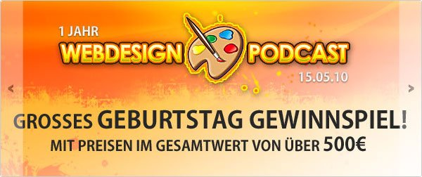 Webdesign-Podcast.de jQuery Slider / Slideshow