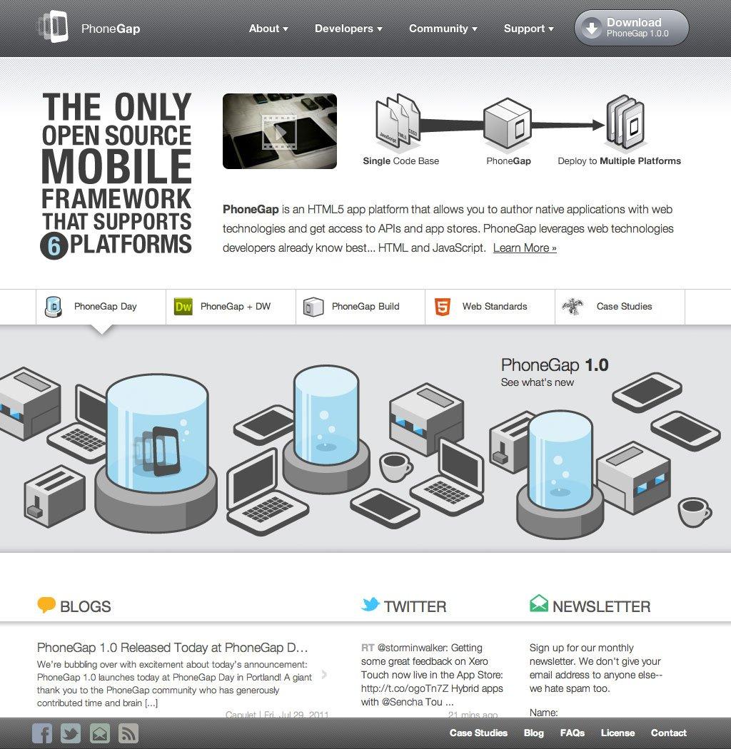 Native iPhone Apps mit HTML, CSS und JavaScript schreiben dank PhoneGap