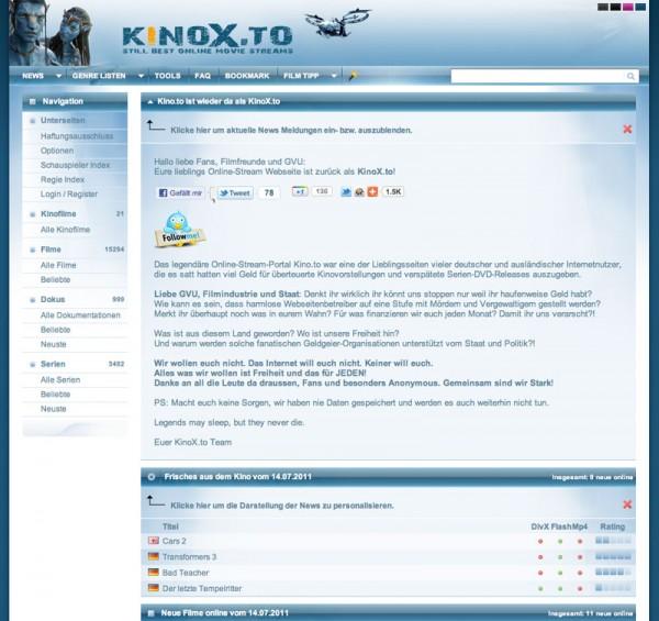 Das neue kinox.to