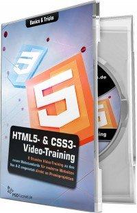 HTML5 & CSS3 Video Training