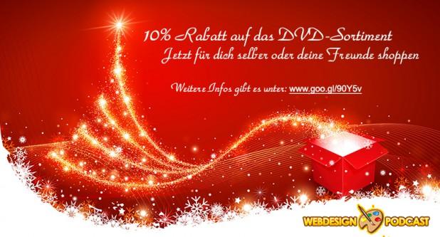 Weihnachtsgeschenk für alle Webdesign-Podcast.de Leser