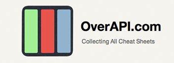 OverAPI.com eine gut gesammelte Kollektion von Cheat Sheets