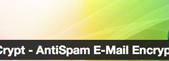 WordPress MailCrypt Plugin