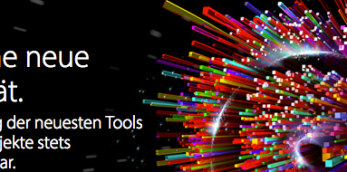 Adobe stellt von Creative Suite auf Creative Cloud um