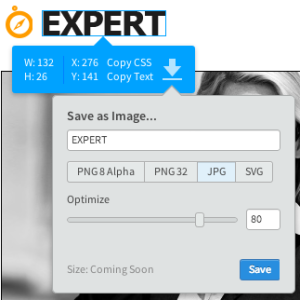 Adobe Project Parfait Bild Export