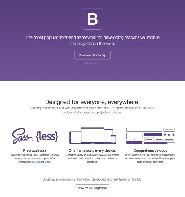 Bootstrap - eines der meistgenutzten Frontend Frameworks aus dem Hause Twitter