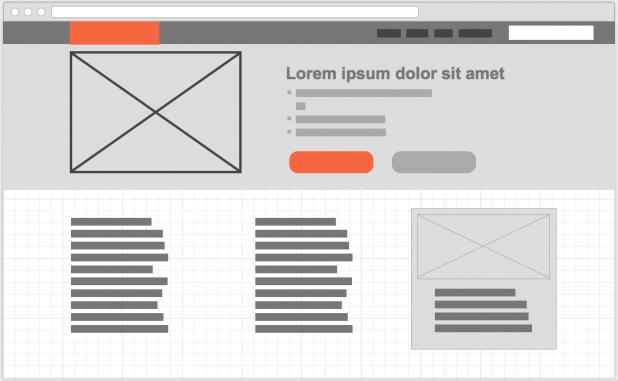 Schnell und einfach Entwürfe bzw. Vorlagen mit Wireframe.cc bauen