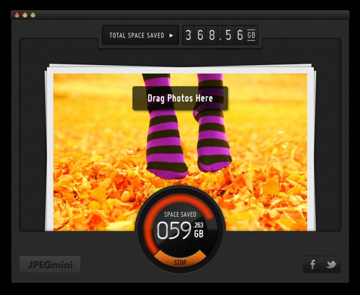 JPEG Mini - Screenshot