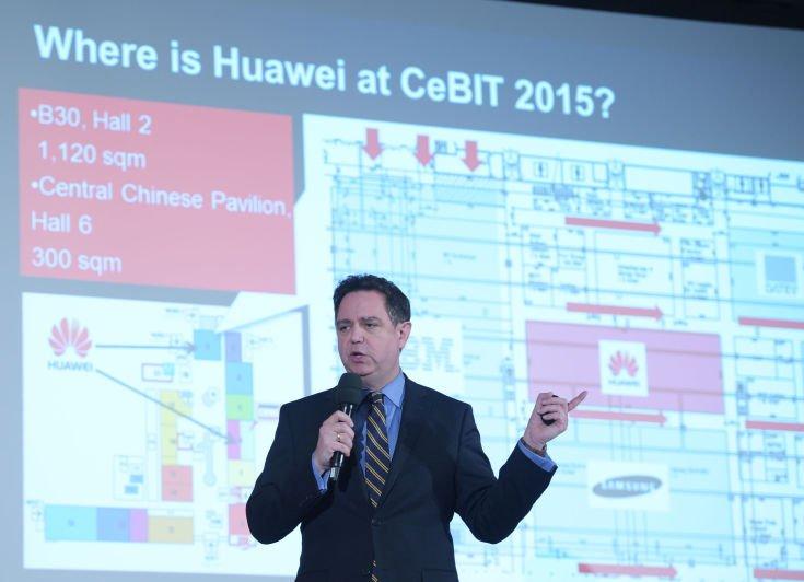 CeBIT Press Preview 2015, Huawei