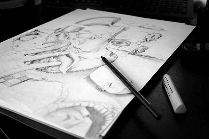 Sketchbook von Martin Grohs