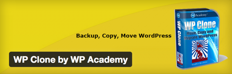 10. WP Clone by WP Academy