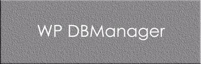 4. WP DB Manager