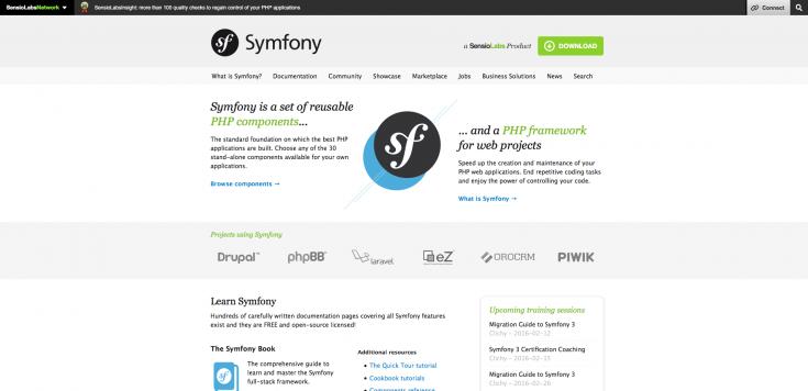 Das PHP Framework Symfony. Die neue Basis von Drupal 8