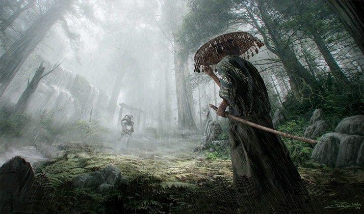 Samurai vs Knight | Concept Art