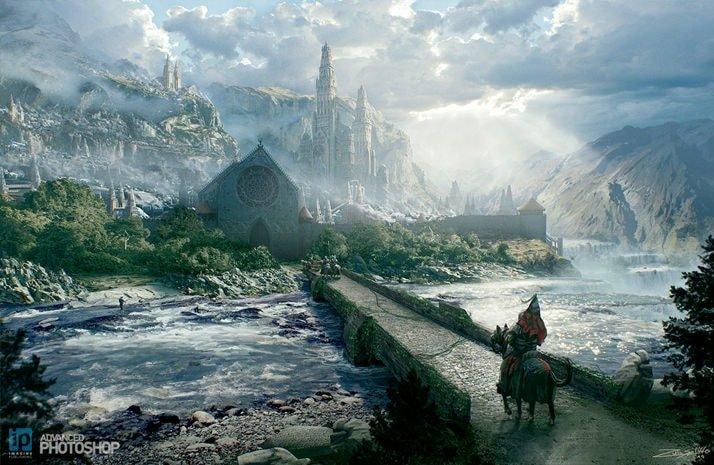Epic Fantasy Landscape | Concept Art