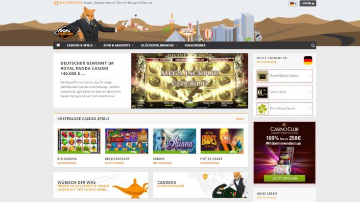 Glücksspiel Magazin VegasMaster