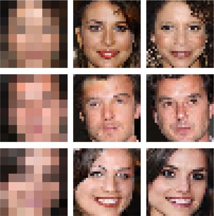 Google Brain - Verpixelte Bilder entpixeln
