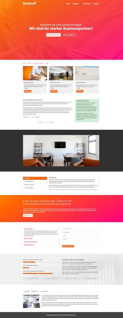 Bootstrap 4 Komplettkurs - Beispielwebseite